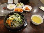 Tout ça pour seulement 9000 Wons + resservie deux fois en kimchi. Et c'était délicieux !