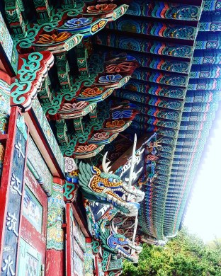 Beauté d'un temple